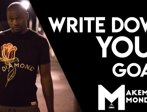 Makempay Monday | Write Down Your Goals